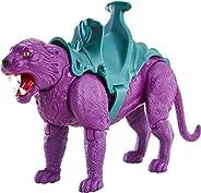 Masters of the Universe Origins Panthor Juguete para niños de 6 años en adelante con Armadura removible y empa