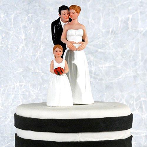 Tortenfigur Madchen Fur Die Hochzeit Mit Kind Hochzeitstortenfigur