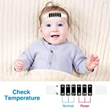 50 Pieces Forehead Thermometer Strip Reusable Baby