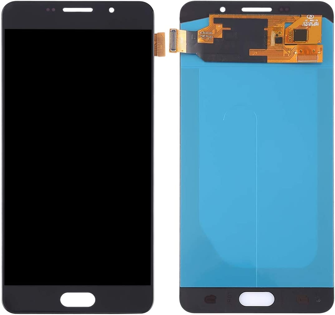 Color : White A710F OLED Material A710M LCD Screen and Digitizer Full Assembly A7100 Replacement Part Black A710F//DS for Galaxy A7 A710FD A710Y//DS Premium Quality A710M//DS 2016