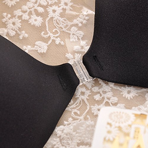 GFEI Ultra Thin transpirable pecho Bra almohadillas de silicona ...