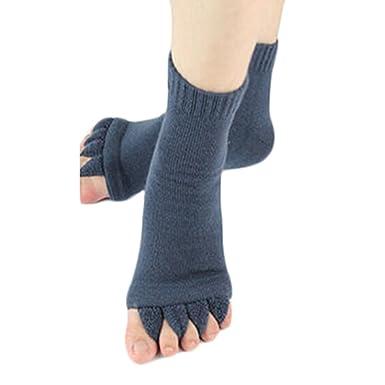 1 Pair Comfortable Wear Five Toe Separator Socks Alignment Pain Relief Foot  Wear