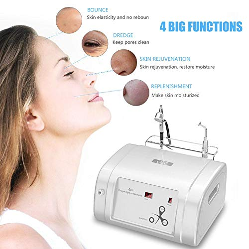 Oxygen Injection Machine Oxygen Spray Water Injection Hydrate Jet Skin Rejuvenation Beauty Machine(White) by Brrnoo (Image #4)