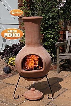 Extra Large mexicain Colima en terre cuite en argile avec foyer ...
