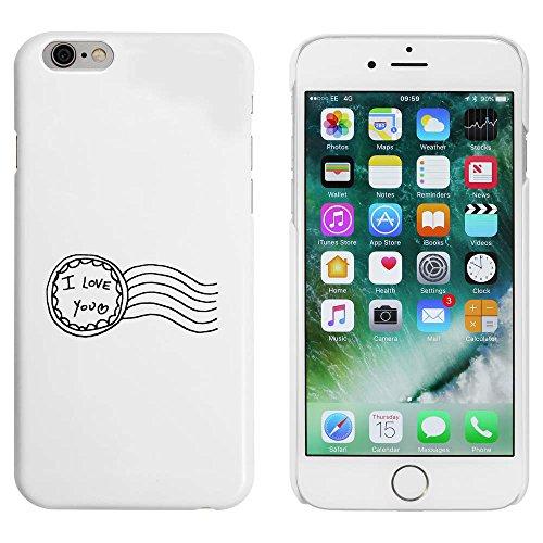 Blanc 'I Love You' étui / housse pour iPhone 6 & 6s (MC00008814)