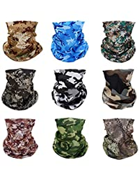 Windproof Seamless Skull Face Mask Bandana for Riding Cycling Motorcycle Multifunctional Headwear-Tactical