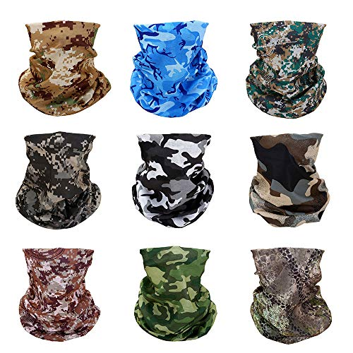 - Yerwal Windproof Seamless Skull Face Mask Bandana for Riding Cycling Motorcycle Multifunctional Headwear-Tactical