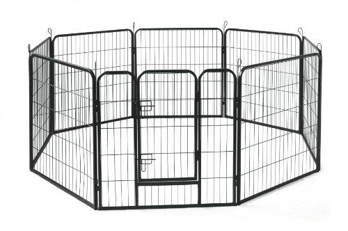 Allmax Metal Pet Fence Black Buy Online In Uae Misc