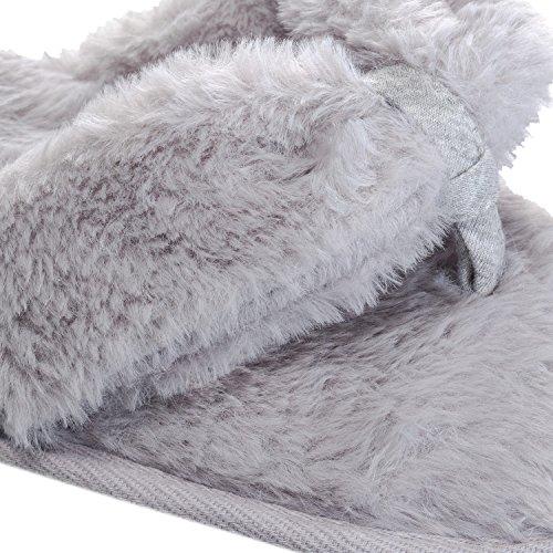 Brave Soul  Lsf-467fluffy,  Damen Entspannt Soft Grey