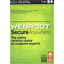 WEBRC Webroot SecureAnywhere  Internet Security Plus 2013  (3-Users)