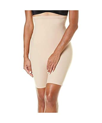 18e15e65a8655 Assets RHL by Spanx Clever Controllers High-Waist Mid-Thigh Shorts 1X UK  24-26  Amazon.co.uk  Clothing