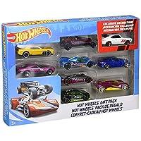 Paquete de regalo de 9 automóviles Hot Wheels (los estilos pueden variar)