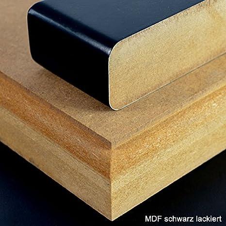 19mm MDF Platte 50x50 cm roh