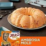 JELL-O Orange Gelatin Dessert Mix (6 oz Boxes, Pack of 6)