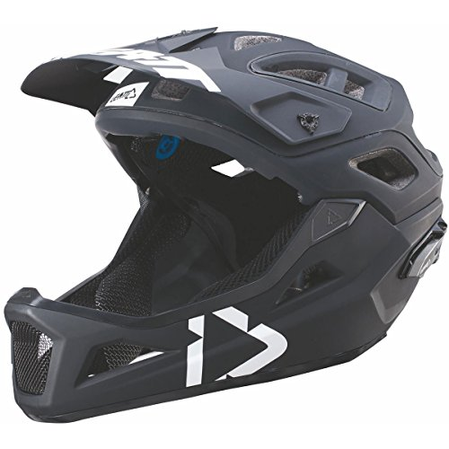 Leatt DBX 3.0 Enduro V2 Bicycle Helmet-Black/White-S