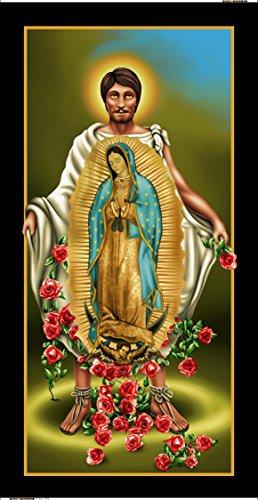 Virgen De Guadalupe Juan Diego (Juan Diego Virgen of Guadalupe Tapestry\towel)