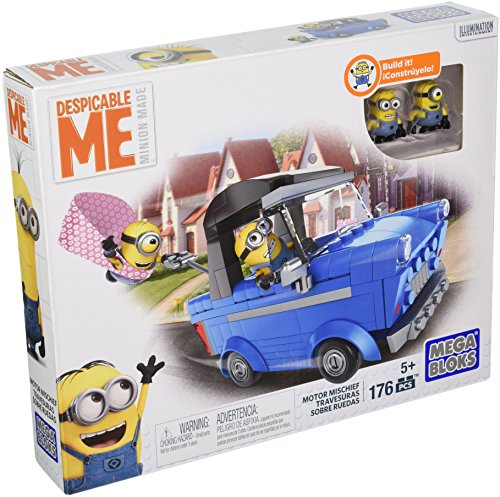 Mega Bloks Despicable Me Motor Mischief Building Kit