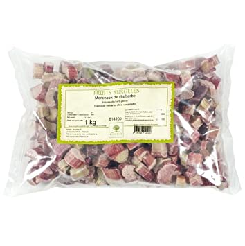 Rhubarb Iqf Pieces Frozen 1 Bag 22 Lbs Amazoncom Grocery