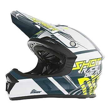 Shot 2017 Hombres de motocross/MTB casco – Furious Pinza para – teal-blau