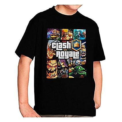 Camiseta Clash Royale Personajes GTA Style (9-10-11 años ...