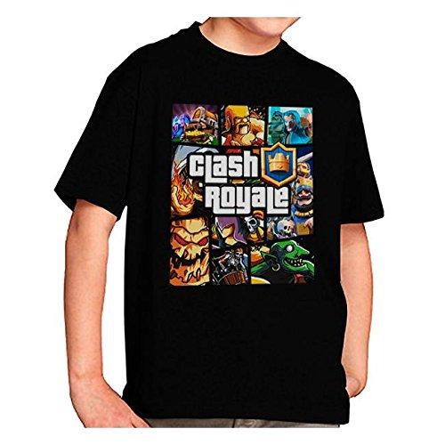 Camiseta Clash Royale Personajes GTA Style (9-10-11 años): Amazon.es: Juguetes y juegos