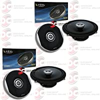 4 x Infinity Primus 6.5 2-way Car audio coaxial speakers