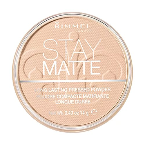 (3 Pack) RIMMEL LONDON Stay Matte Long Lasting Pressed Powder - Creamy Natural
