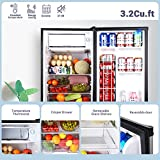 Compact Refrigerator, TACKLIFE 3.2 Cu Ft Mini