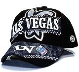 City Hunter V170 City Denim Dyed Patch Cap Las Vegas (Black)