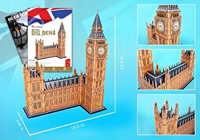 Big Ben 3d Puzzle With Book from Daron