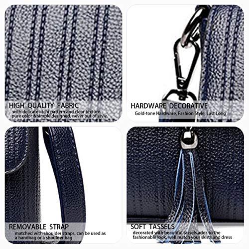 mano da Donna spalla polso Blu Borse Borse Borse Borsette Blu Messenger a DEERWORD a qtgFqv