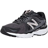 New Balance Women's 680V4 Cushioning Running Shoe (Black)
