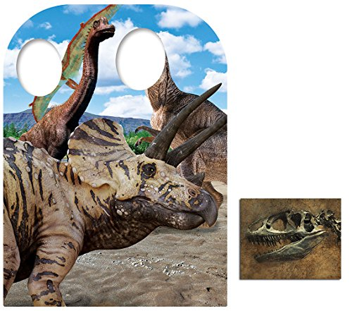 Fan Pack - Dinosaur Child Size Stand-in Cardboard Cutout / Standup - Includes 8x10 Star Photo ()