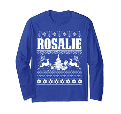 Unisex Its a Rosalie Thing, Ugly Christmas Sweater T-Shirt Small Royal - Rosalie Tee