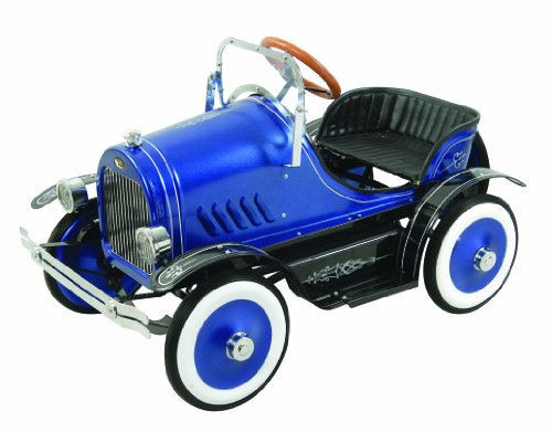Deluxe Pedal Car (Dexton Llc Deluxe Blue Roadster Pedal Car Blue)