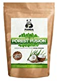 Greens Powder By Panda Nutrition ★ 250g Of Bounty Coconut Flavoured Greens Goodness With Added Cocoa Powder ★ Forest Fusion Includes Spirulina, Wheatgrass, Barley Grass, Chlorella, Alfalfa, Kale And Peppermint Leaf To Further Bring Out The Truly Delicious Taste & Textures That Our Green Powder Has ★ Greens Powder Supplements For Your Overall Health, Vitality & Wellbeing ★ ZERO Risk & 100% Money Back Guarantee!