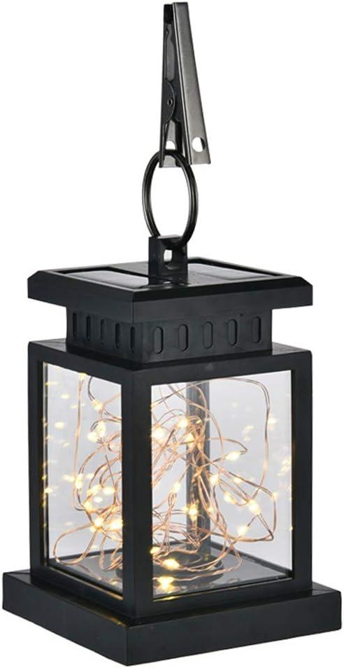 Sukisuki 2019 - Farol Solar LED para jardín, lámpara Colgante para ...