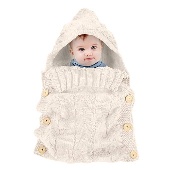 Bebé Recién Nacido Manta Envoltura de Felpa Unicornio Mochila para ...