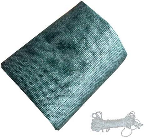 XLCZ Tela de Sombra/toldo Vela / 95% UV Tela de Sombra del/Sombras de Color Verde Oscuro para Proteger la privacidad de la terraza de la Tienda jardín: Amazon.es: Hogar