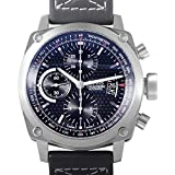 Oris Men's BC 4 Automatic Chronograph Black Genuine Leather and Dial