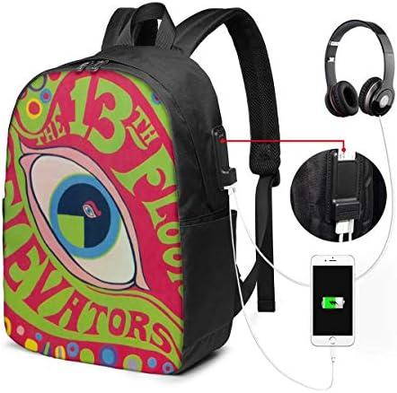 ビジネスリュック 13thフロア エレベーターズ メンズバックパック 手提げ リュック バックパックリュック 通勤 出張 大容量 イヤホンポート USB充電ポート付き 防水 PC収納 通勤 出張 旅行 通学 男女兼用