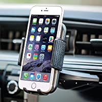 Bestrix Universal CD Slot Smartphone Car Mount Holder for iPhone X, 8, 7, 6, 6S Plus 5S, 5C, 5, Samsung Galaxy S5, S6, S7, S8, Edge/Plus Note 4,5,8, LG G4, G5, G6, V30 all smartphones up to 6'