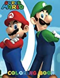 SUPER MARIO: Coloring Book for Kids and Adults - 40 illustrations