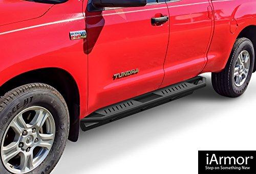 Steps Armor Custom Fit 2007-2018 Toyota Tundra Double Cab Pickup 4-Door (Nerf Bars | Side Steps | Side Bars) ()