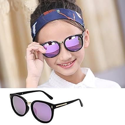 Nuevos niños coloridos de moda gafas Gafas de sol ...