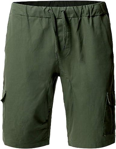 Été Hommes Solid Short Gym Pantalon Sport Jogging En Coton Short Taille Plus