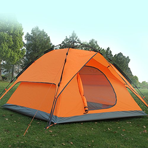 Dome Tent Outdoor Waterproof Automatic 3-4 Person Double Layer C&ing Family beach Tents - C&ing Equipment u0026 Supply & Dome Tent Outdoor Waterproof Automatic 3-4 Person Double Layer ...