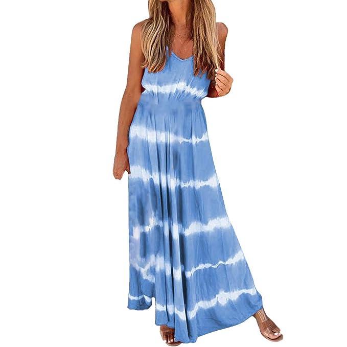 Mujer Verano de Playa Vestido de Lino de Verano Vestido Mujer ...