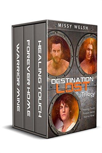 Destination Lost Trilogy: Gay Scifi M/M Erotic Romance