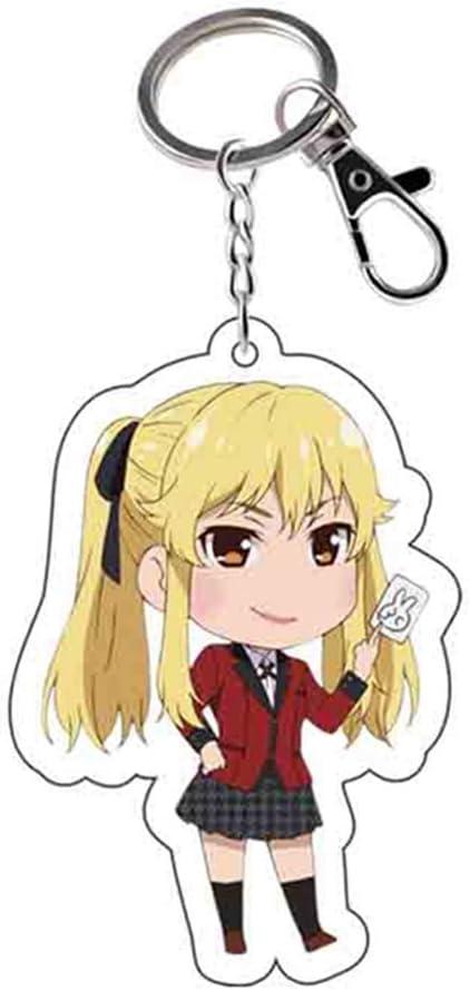 Sweet/&rro17 Anime Kakegurui Llavero de mosquet/ón acr/ílico colgante Itsuki SUMERAGI
